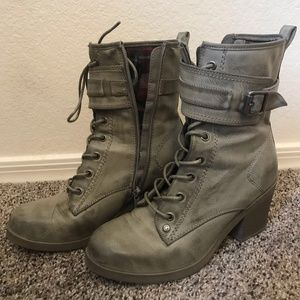 Lace-Up Booties - G by Guess